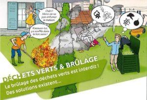 brulage déchets verts