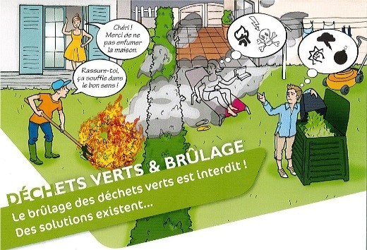 Règlementation de brûlage de déchets verts et d'autres produits végétaux