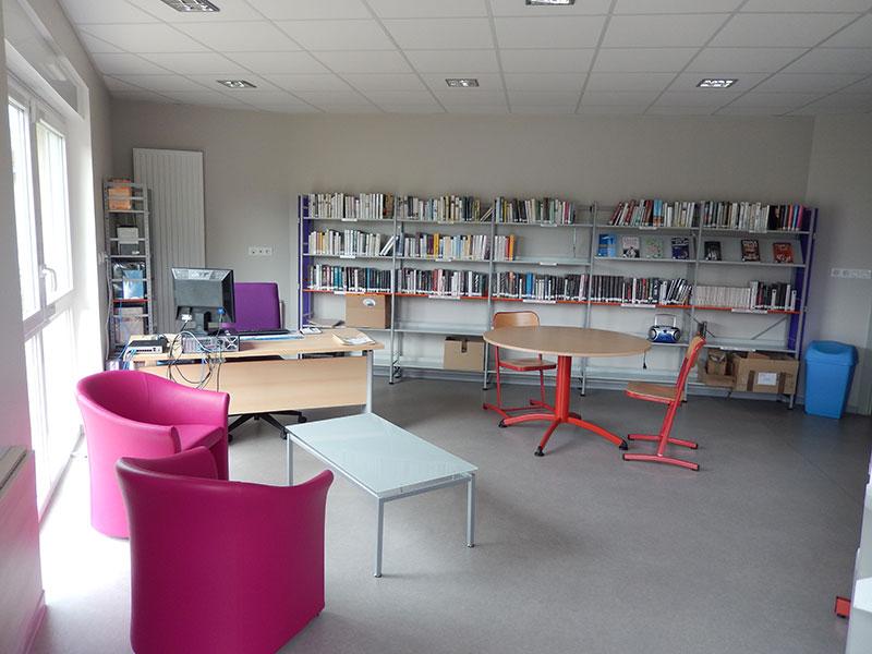 Ouverture au public de la bibliothèque