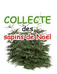COLLECTE DES SAPINS DE NOEL