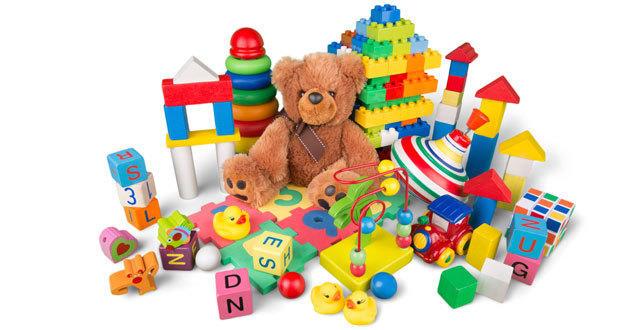Collecte de jouets d'occasion