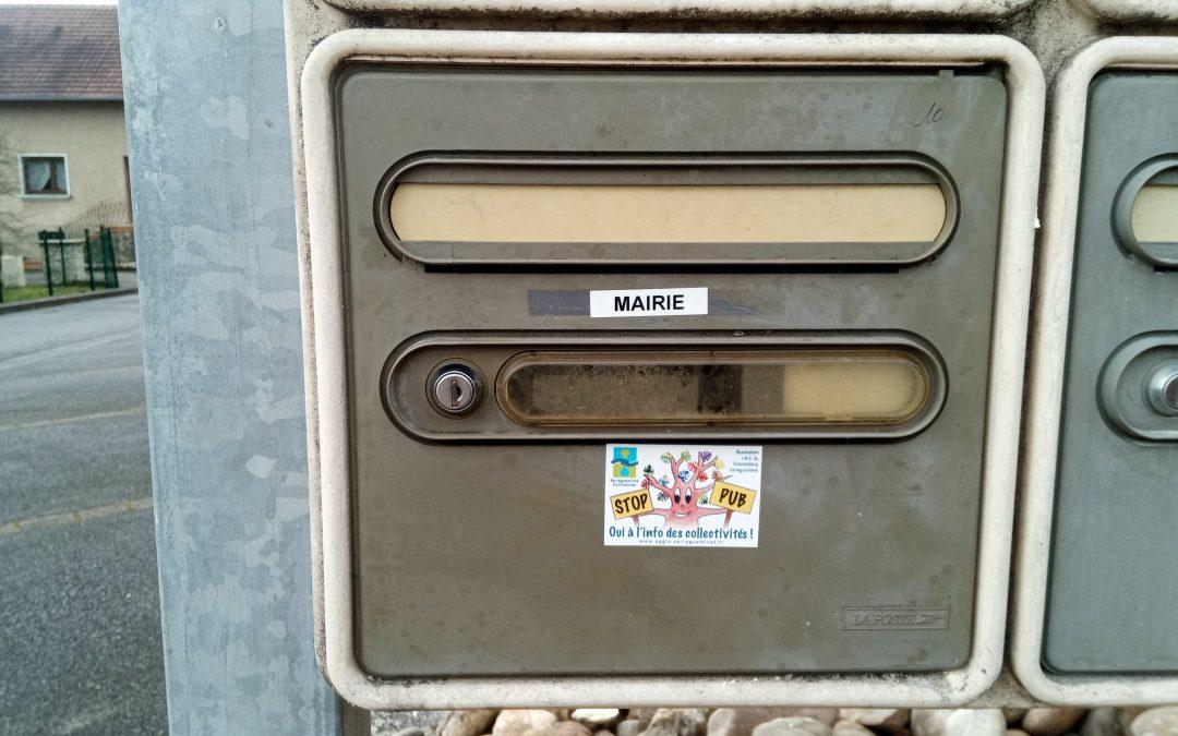 Boîte aux lettres de la Mairie