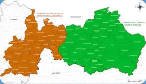 Carte interactive des services ouverts sur l'arrondissement de Sarreguemines